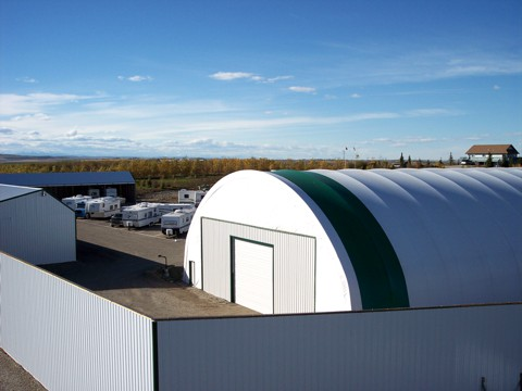 Indoor Rv Storage Calgary Rainbow Storage Ltd